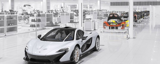 McLaren P1…first deliveries