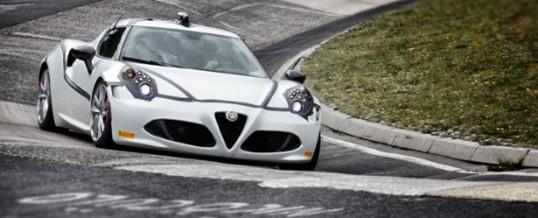 Alfa-Romeo 4C : record du tour au Nürburgring (- de 250ch)