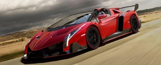 Lamborghini révèle sa version roadster de la Veneno.